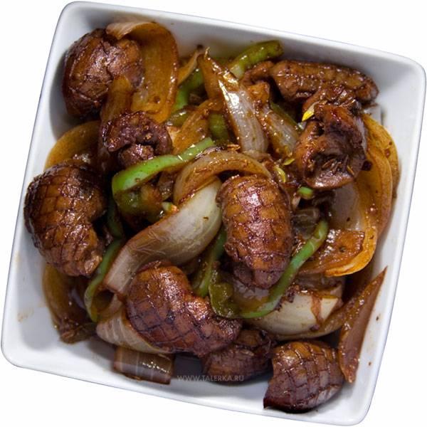 Рецепты приготовления блюд из почек