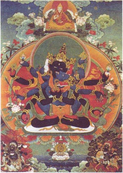 Гухьясамаджа. Танка. Тибет.