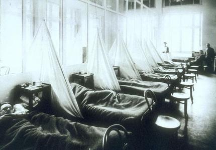 Эпидемия Испанки в 1918-м году